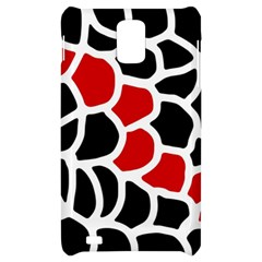 Red, black and white abstraction Samsung Infuse 4G Hardshell Case
