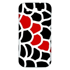 Red, black and white abstraction Samsung Galaxy S3 S III Classic Hardshell Back Case