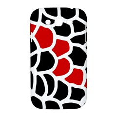 Red, black and white abstraction Samsung Galaxy Grand DUOS I9082 Hardshell Case