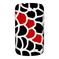 Red, black and white abstraction Samsung Galaxy Express I8730 Hardshell Case