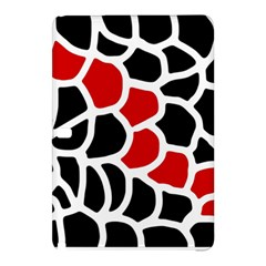 Red, black and white abstraction Samsung Galaxy Tab Pro 10.1 Hardshell Case