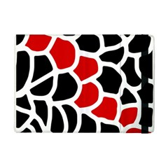 Red, black and white abstraction iPad Mini 2 Flip Cases