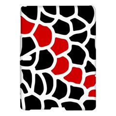 Red, black and white abstraction Samsung Galaxy Tab S (10.5 ) Hardshell Case