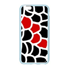 Red, black and white abstraction Apple Seamless iPhone 6/6S Case (Color)