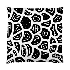 Black and white playful design Standard Cushion Case (One Side)
