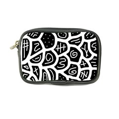 Black and white playful design Coin Purse
