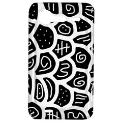 Black and white playful design HTC Incredible S Hardshell Case