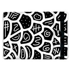 Black and white playful design Samsung Galaxy Tab Pro 12.2  Flip Case