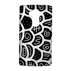 Black and white playful design LG G4 Hardshell Case