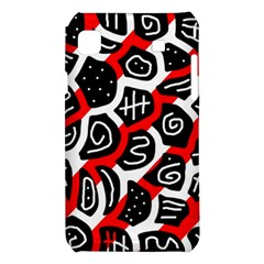 Red playful design Samsung Galaxy S i9008 Hardshell Case