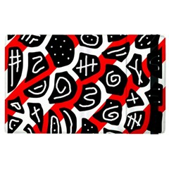 Red playful design Apple iPad 2 Flip Case