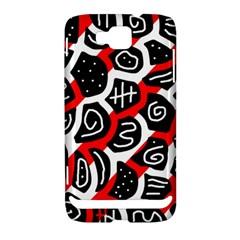 Red playful design Samsung Ativ S i8750 Hardshell Case