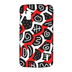 Red playful design LG Nexus 4
