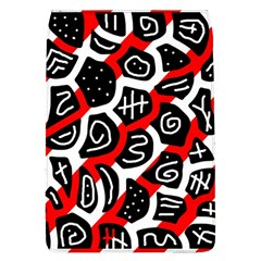 Red playful design Flap Covers (L)