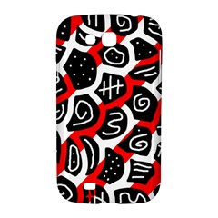 Red playful design Samsung Galaxy Grand GT-I9128 Hardshell Case
