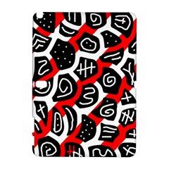 Red playful design Samsung Galaxy Note 10.1 (P600) Hardshell Case