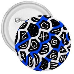 Blue playful design 3  Buttons