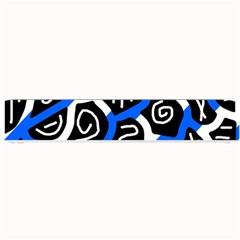 Blue playful design Small Bar Mats