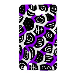 Purple playful design Samsung Galaxy Note 1 Hardshell Case