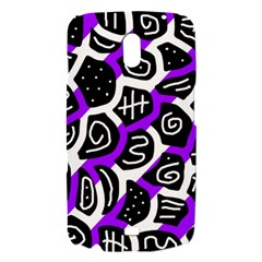 Purple playful design Samsung Galaxy Nexus i9250 Hardshell Case