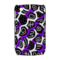 Purple playful design Curve 8520 9300