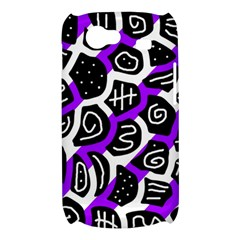 Purple playful design Samsung Galaxy Nexus S i9020 Hardshell Case