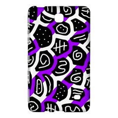 Purple playful design Samsung Galaxy Tab 4 (7 ) Hardshell Case