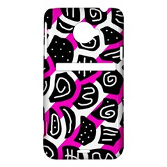 Magenta playful design HTC Evo 4G LTE Hardshell Case