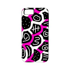 Magenta playful design Apple iPhone 5 Classic Hardshell Case (PC+Silicone)
