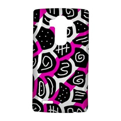 Magenta playful design LG G4 Hardshell Case