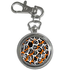 Orange playful design Key Chain Watches