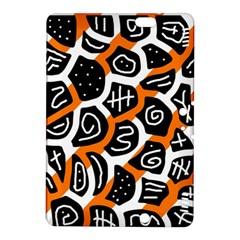 Orange playful design Kindle Fire HDX 8.9  Hardshell Case