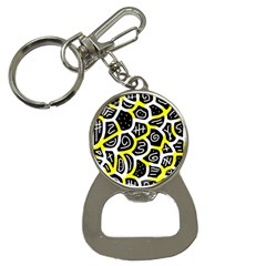 Yellow playful design Bottle Opener Key Chains