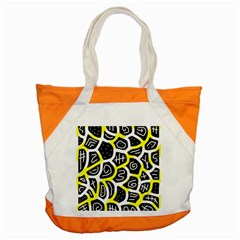 Yellow playful design Accent Tote Bag