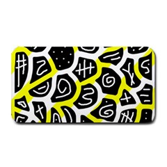 Yellow playful design Medium Bar Mats