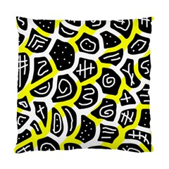 Yellow playful design Standard Cushion Case (Two Sides)
