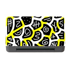 Yellow playful design Memory Card Reader with CF