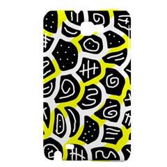 Yellow playful design Samsung Galaxy Note 1 Hardshell Case
