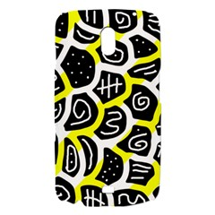 Yellow playful design Samsung Galaxy Nexus i9250 Hardshell Case