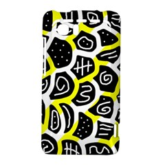 Yellow playful design HTC Vivid / Raider 4G Hardshell Case