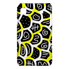Yellow playful design Samsung Galaxy S i9008 Hardshell Case