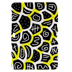 Yellow playful design Samsung Galaxy Tab 8.9  P7300 Hardshell Case