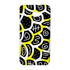 Yellow playful design HTC Butterfly S/HTC 9060 Hardshell Case