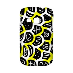 Yellow playful design Samsung Galaxy S6310 Hardshell Case
