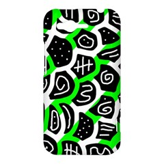 Green playful design HTC Rhyme