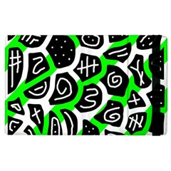 Green playful design Apple iPad 3/4 Flip Case
