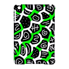 Green playful design Apple iPad Mini Hardshell Case (Compatible with Smart Cover)