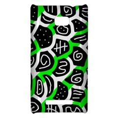 Green playful design HTC 8X