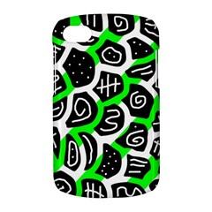 Green playful design BlackBerry Q10