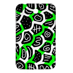 Green playful design Samsung Galaxy Tab 3 (7 ) P3200 Hardshell Case